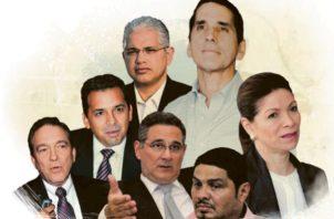Los siete candidatos tendrán un tiempo limitado para responde preguntas durante el primer debate.