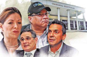 Ana Matilde Gómez y Dimitri Flores encabezan número de firma para la libre postulación. Foto/@PanamaAmerica