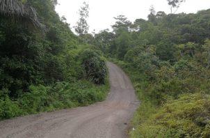 El retraso en el proyecto carretero, no solo afecta al poblado de Tería sino también al Harino, Las Claras y Río Indio, entre otras. Foto/Eric Montenegro