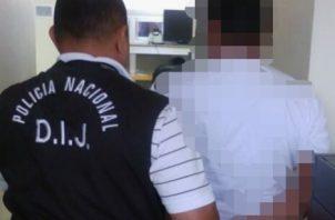 La orden de arresto contra el ciudadano estaba girada desde el 2017. Foto/José Vásquez