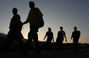 Esta segunda caravana, de unas 1.500 personas, está atravesando Guatemala dispersa en varios grupos que también tiene a Estados Unidos como destino final.