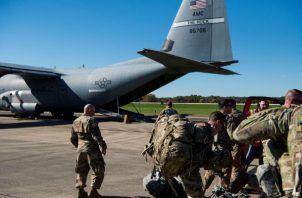 El cuerpo de reserva de las Fuerzas Armadas que históricamente actúa en este tipo de misiones en suelo estadounidense.