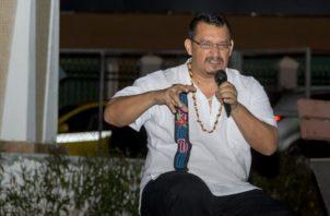 Escritor panameño Carlos Fong. Archivo