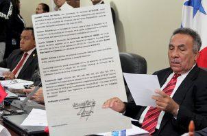 Fallo firmado por la juez tercera electoral. Imagen de Adiel Bonilla