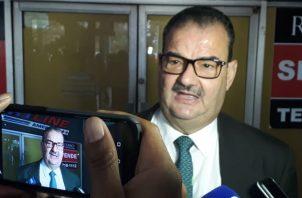 Carlos Carrillo es uno de los abogados del expresidente Ricardo Martinelli. Foto Luis Ávila