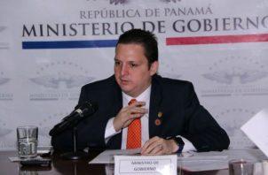 Ministro de Gobierno, Carlos Rubio, impide traslado de Ricardo Martinelli a audiencia de impugnación. Foto: Panamá América.