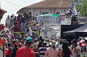 Dos de los cuatro lesionados fueron dados de alta. Foto/Thays Domínguez