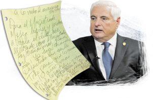 """En otra carta Martinelli señaló: """"La tortuga psicópata solo desea mantenerme preso, envuelto en un sistema sin ninguna prueba, pero sí preso para no poder hacer política""""."""