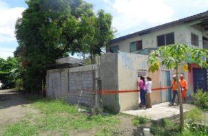 En el distrito de Renacimiento hay 12 casas afectadas; sin embargo serán reparadas oportunamente.