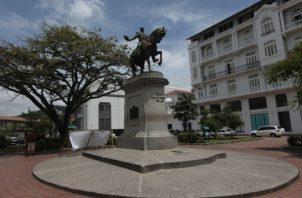 Plazas, espacios abiertos y otros lugares del histórico barrio San Felipe serán los escenarios de las actividades. /Foto Archivo.