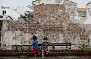 Ya se ha restaurado la mitad de los casi 800 edificios coloniales del Casco Antiguo. Foto: EFE