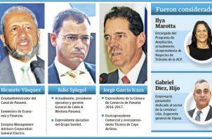 Catín Vásquez se perfila como el nuevo administrador del Canal de Panamá.