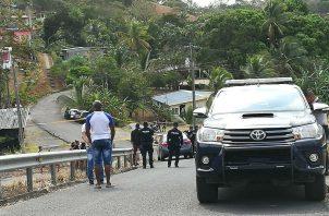 Personal del Ministerio Público se dirigió al lugar, para hacer el levantamiento del cadáver. Foto/Diómedes Sánchez