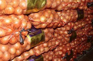 De septiembre a diciembre disminuye la producción de cebolla. Archivo