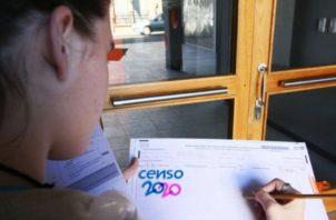 El personal,  que realizará el censo, estará identificado con gafete.