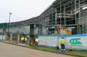 El Centro de Convenciones de Amador debe ser inaugurado en septiembre próximo.