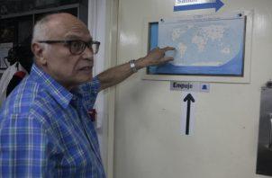Dr. Bernardo Fernández García, profesor de la UP y director de la Estación RN50. Foto de Víctor Arosemena