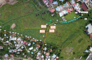 Hay un amplio terreno en Chivo Chivo para la construcción del Centro Regional de  San Miguelito de la Universidad de Panamá.