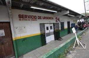 En el centro de Salud de San Isidro declararon la muerte de la niña de un año de edad.