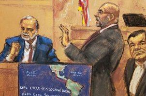 """Los abogados de Joaquín """"El Chapo"""" Guzmán, han tratado de desestimar a los testigos de la fiscalía. Foto/Archivo"""