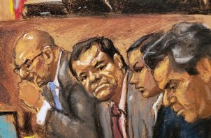 El pasado 12 de febrero, el Chapo Guzmán fue declarado culpable de diez delitos de narcotráfico por un jurado que deliberó durante seis días, en un proceso que duró casi cuatro meses.