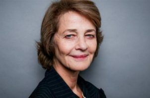 Actriz británica Charlotte Rampling.