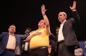 Gálvez fue invitado a la iglesia evangélica Palabra de Vida Eterna. Foto de cortesía