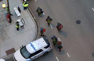 Hasta el momento las autoridades reportan una persona muerta. FOTO/AP