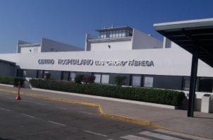 """El bebé está hospitalizado en el Hospital Luis """"Chicho"""" Fábrega. Foto: Melquiades Vásquez."""