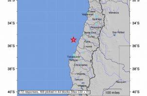 El sismo empezó con un leve movimiento que de pronto se convirtió en un fuerte remezón. FOTO/EFE
