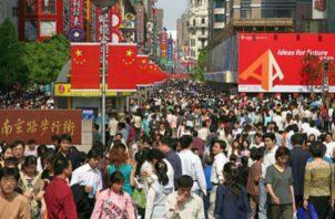 En China hay 1,395 millones de habitantes. EFE