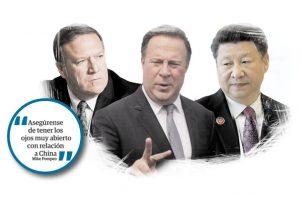 Panamá baja las revoluciones con China tras la visita de Mike Pompeo. Foto: Panamá América.