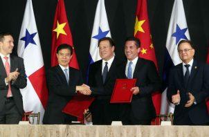 Panamá estableció relaciones diplomáticas con China.