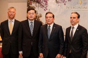 El ministro Ramón Martínez aclaró que la relación entre Panamá y China está muy fuerte. Foto/Archivo