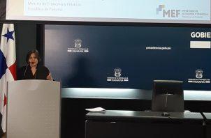 MEF presentó el informe de rendición de cuentas ante los medios de comunicación.