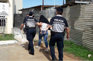 Fue llevada al Centro Femenino de Los Algarrobos. Foto: Mayra Madrid.