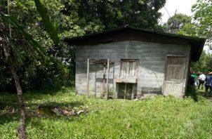 El dueño de la finca dijo que desconocía que la casa había sido utilizada en este hecho ocurrido en Chiriquí.