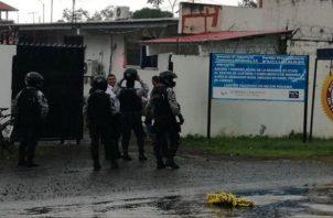 El adolescente pudo evadirse a través de un hueco que fue hecho en la pared. Foto/Mayra Madrid