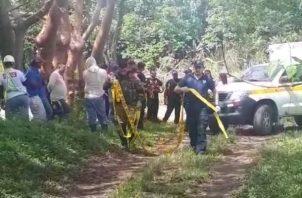 El cadáver fue ubicado por varias personas en Chiriquí.