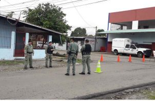 Se estima que fueron siete los sujetos que entraron a robar los vehículos. Foto/Mayra Madrid