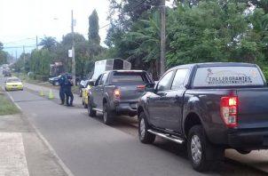 Los sujetos fueron puestos a órdenes de las autoridades competentes, quienes adelantan las investigaciones. Foto/José Vásquez