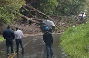 Gran cantidad de conductores quedaron atrapados. Foto: Mayra Madrid.