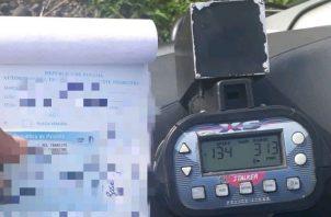 Aseguran que llegaron a la provincia de Chiriquí nuevos equipos para medir el nivel de alcohol en los conductores y radares.