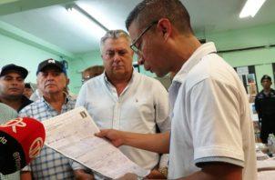 En el distrito de La Chorrera, el actual alcalde Tomás Velásquez (PRD), logró la reelección en el cargo con 35 mil 127 votos. Foto/Eric Montenegro