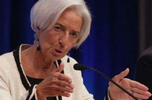 """Lagarde dijo que """"se necesitan políticas que aborden los cambios en los empleos"""". Foto: Cortesía"""