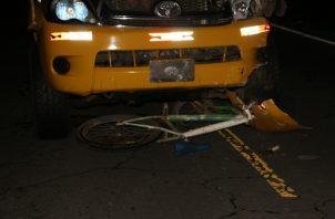 Las estadísticas indican que 37 personas han perdido la vida en las calles chiricanas. Foto/Mayra Madrid