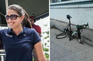 Joven ciclista Mónica Licona. Foto/Archivos