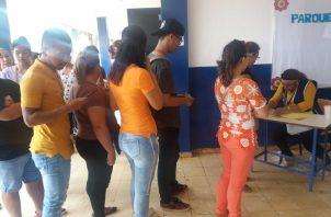 La alta participación electoral predominó en esta jornada electoral. Foto de Jaime Chávez