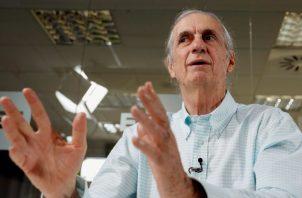 El cineasta e historiador venezolano Carlos Oteyza, durante entrevista con EFE. EFE