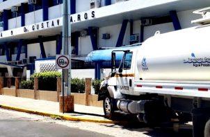 La fuente señala que hasta que no se realicen las mejoras en la planta potabilizadora se mantendrá la crisis de agua en el distrito de David. Foto/José Vásquez